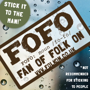 FOFO Sticker Ad SHOP